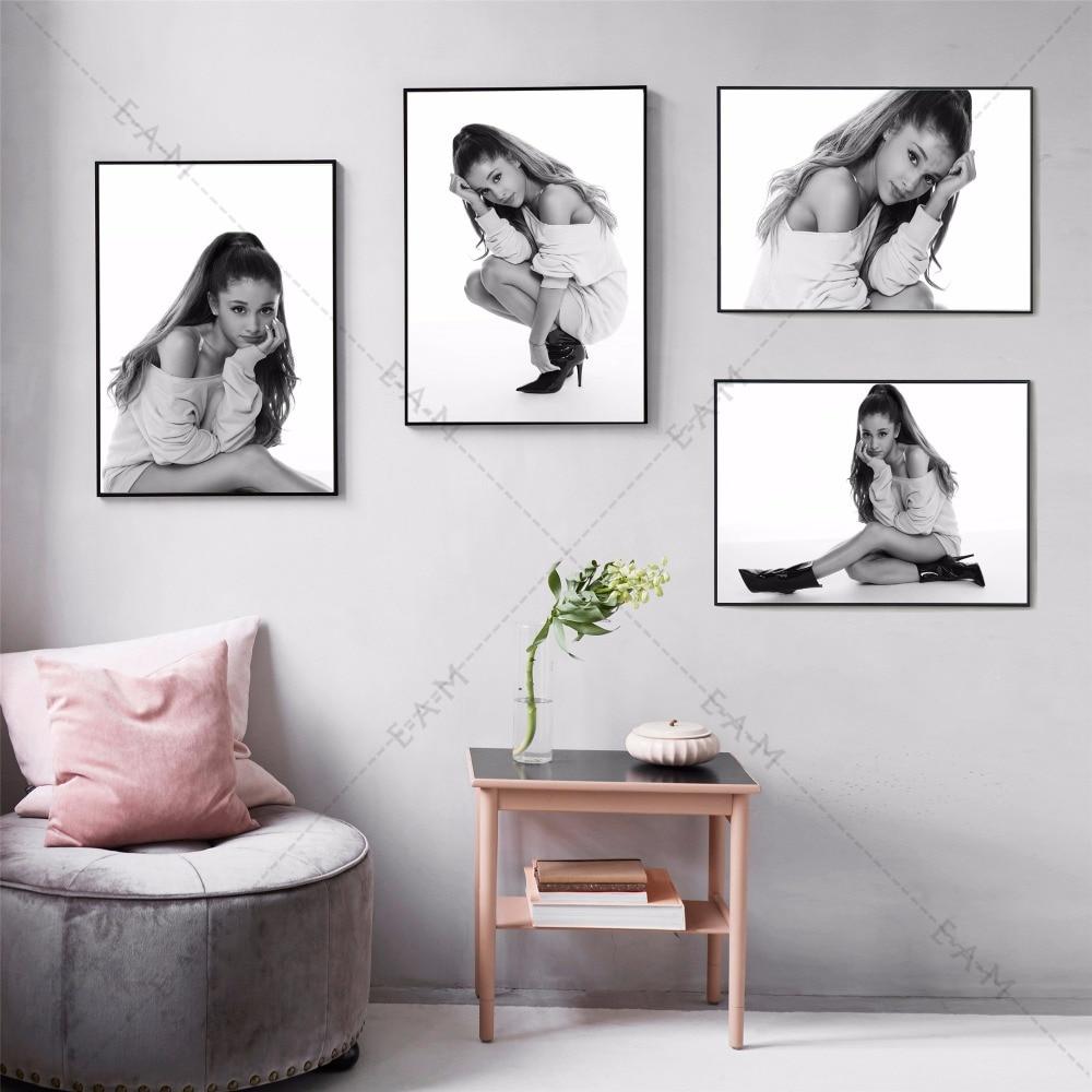 Online Shop Ariana Grande Portraits Posters and Prints Canvas Art ...
