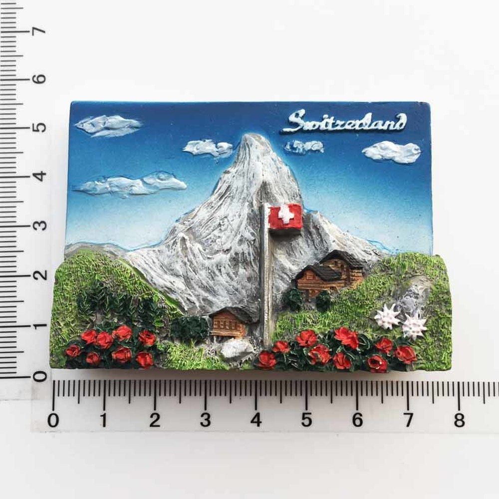 BABELEMI European Swiss Jungfrau Fridge Magnet Tourism Souvenirs Switzerland Refrigerator Magnets Stickers Home Decoration