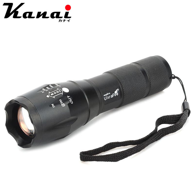5-Mode 960lm LED Flashlight XM-L T6 White Light Zooming Flashlight LED Lamp Lantern Zoomable Torch (18650 / AAA)