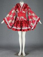 Cosplay animation vêtements en gros lolita culture-lolita dress chargé 15 generation-red-h100