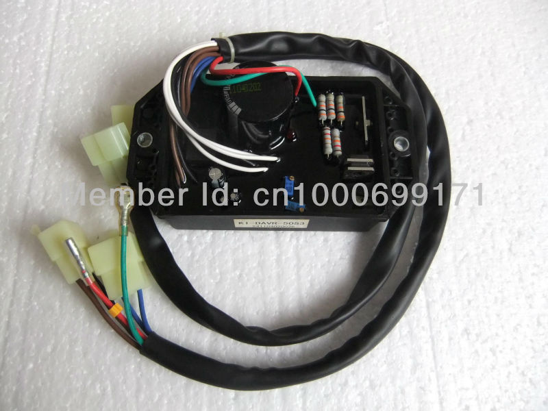 KIPOR KI-DAVR-50S3 AVR three phase automatic voltage regulator generator parts cheep replacement good quality new free shipping ki davr 50s3 three phase generator avr automatic voltage regulator kipor gasoline parts
