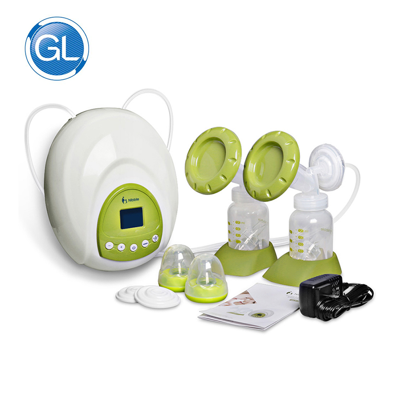 Breast Pump GL Double Electric  Hospital &House Breastmilk Pump Big Suction Hands Free Dual Breast Pump for Baby MY0020 snug s815s manual breast pump