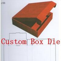 Custom Box Cutting Die Quilt Scrapbook Cards Knife Mold For Sizzix Big Shot Plus Pro Machine
