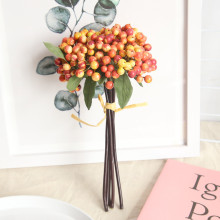 Fake flower fruit bean branch berry home decoration wedding aritificial flowers fruits