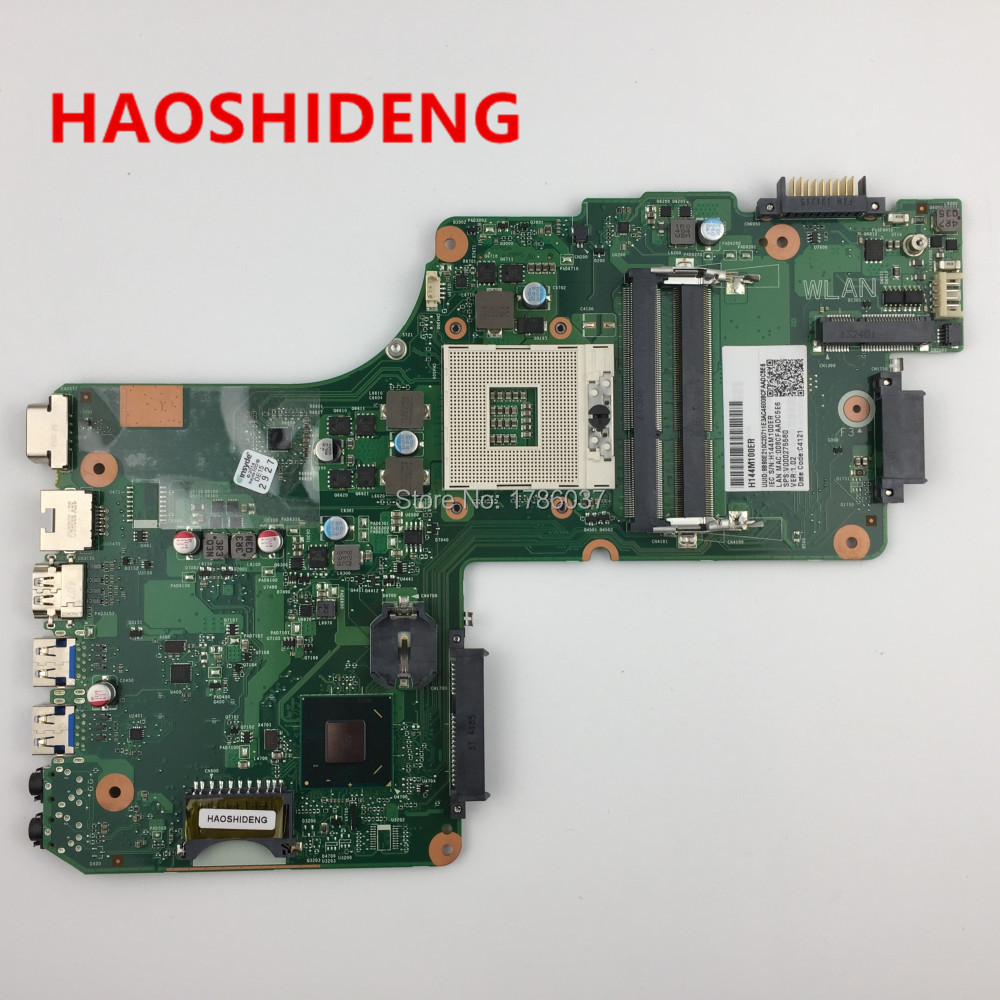 V000275580 for Toshiba Satellite C855 L855 series Laptop Motherboard(Green motherboard),All functions fully Tested! a000302740 da0blimb6f0 for toshiba satellite s50 l50 b l50t b series motherboard with i5 5200u all functions fully tested