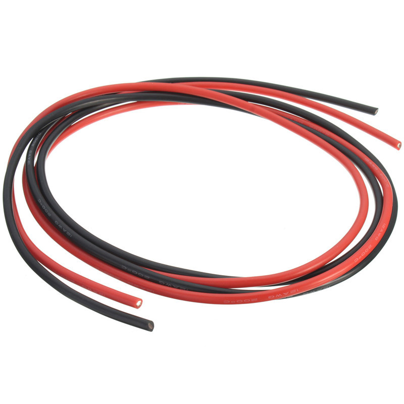 12 AWG 10 Feet 3 Meters Gauge Silicone Wire Flexible Stranded Copper ...