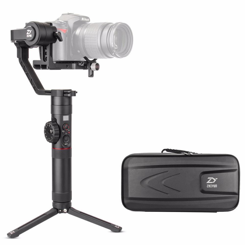 Zhiyun Crane 2 Crane2 3 Axis Handheld Gimbal Stabilizer with Dual Handle Grip Support for DSLR Cameras Load up to 3.2KG zhiyun crane 2 3 axis handheld gimbal stabilizer for dslr cameras sokani sk 5 5 4k hdmi monitor for sony canon etc cameras