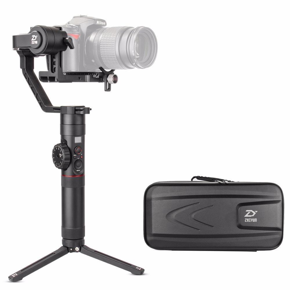 Zhiyun Guindaste 2 Crane2 3 Eixos Cardan Handheld Estabilizador com dupla Pega Suporte para Câmeras DSLR Carga até 3.2 KG
