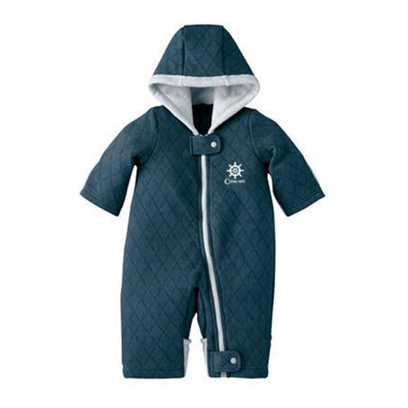 New Autumn Winter Baby Coveralls Thicken Cotton-padded Baby Girl Clothes Casual Solid Baby Rompers High Quality Baby Boy Clothes