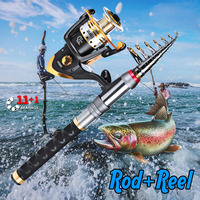 2019 NEW feeder rod fishing carp rod set telescopic travel surf casting carbon trolling fishing reel handle 1.5/1.8/2.1/2.4/2.7m