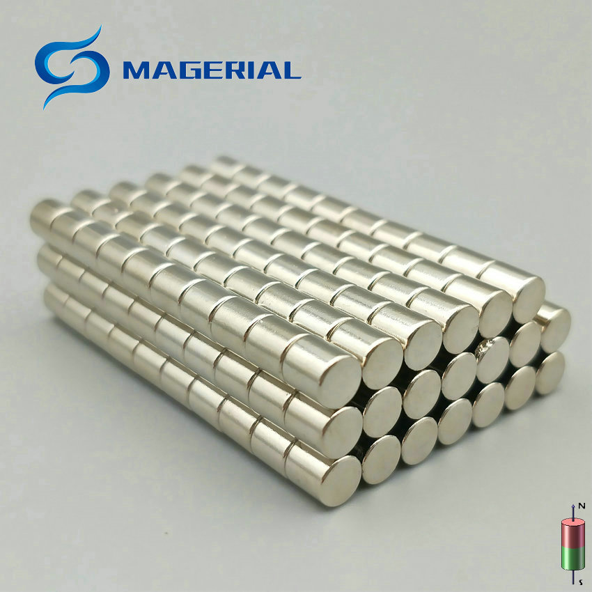 1 pack N38H NdFeB Disc Magnet Dia. 5x5 mm thick 0.2 High Temperature 120 Degree C Strong Neodymium Permanent Magnets NiCuNi 1 pack dia 6x3 mm jelwery magnet ndfeb disc magnet neodymium permanent magnets grade n35 nicuni plated axially magnetized