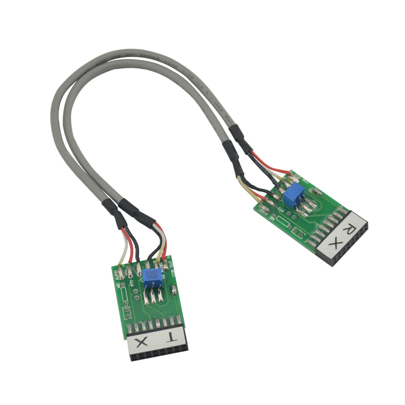 (TX-RX Bidirection) Radio Relay Station Repeater <font><b>Connector</b></font> Cable for <font><b>Motorola</b></font> <font><b>GM300</b></font> GM338 GM3188 GM3688 GM950I GM950E SM120 image