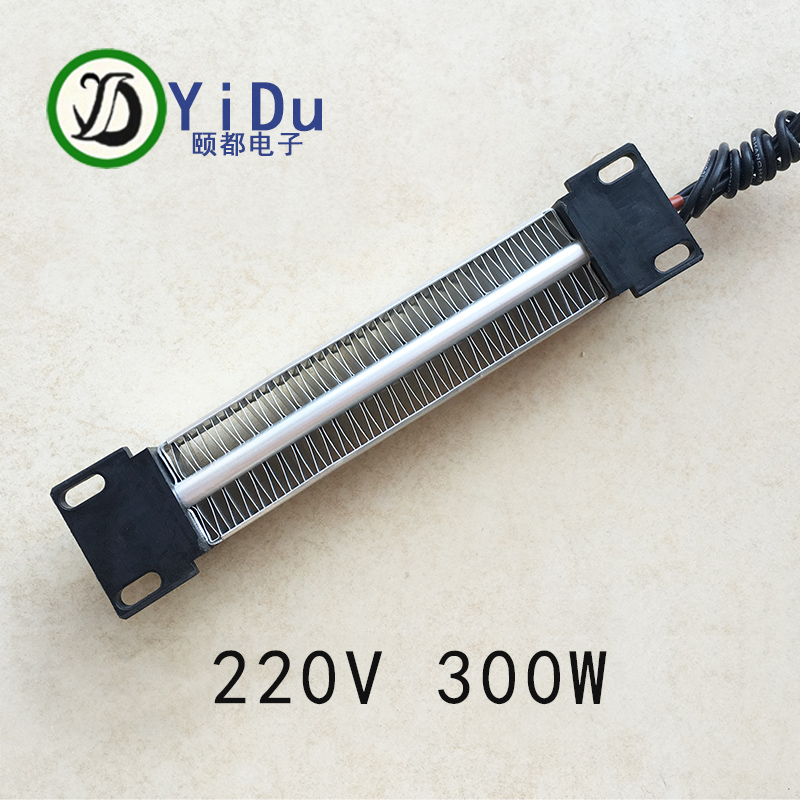 300W AC DC 220V PTC Ceramic Air Heater PTC Heating Element Electric Heater 152*32mm 220v 300w 500w 600w 800w 1000 1200 1500 2000 2500 3000 4000 5000w kiln a1 furnace heating element coil heater wire 600c alchrome
