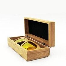 2017 Bamboo Sunglasses Case For Men Women Wood Sun glasses Box Handmade Retro Eyeglasses Cases Eyewear Accessories YJ11