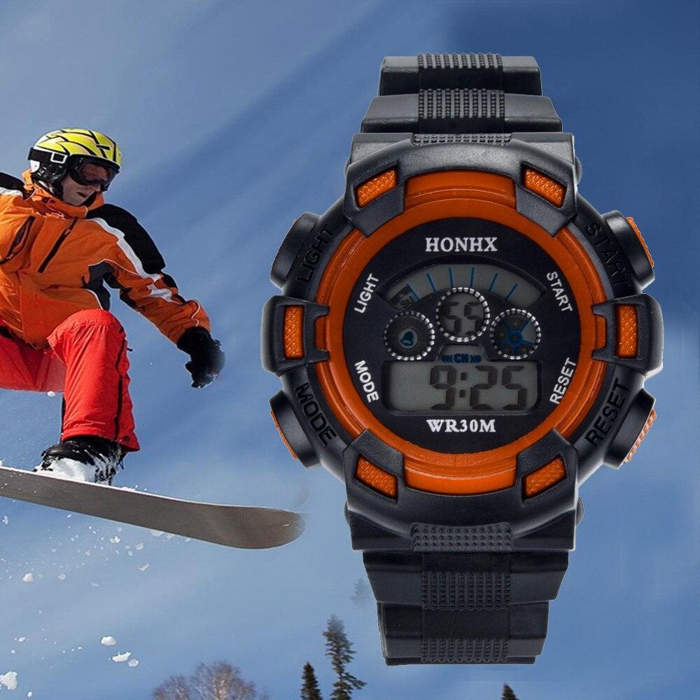Permalink to Digital Watch Men Waterproof Children Boys Digital LED Sports Watch Kids Alarm Date Watch Gift relogio montre homme