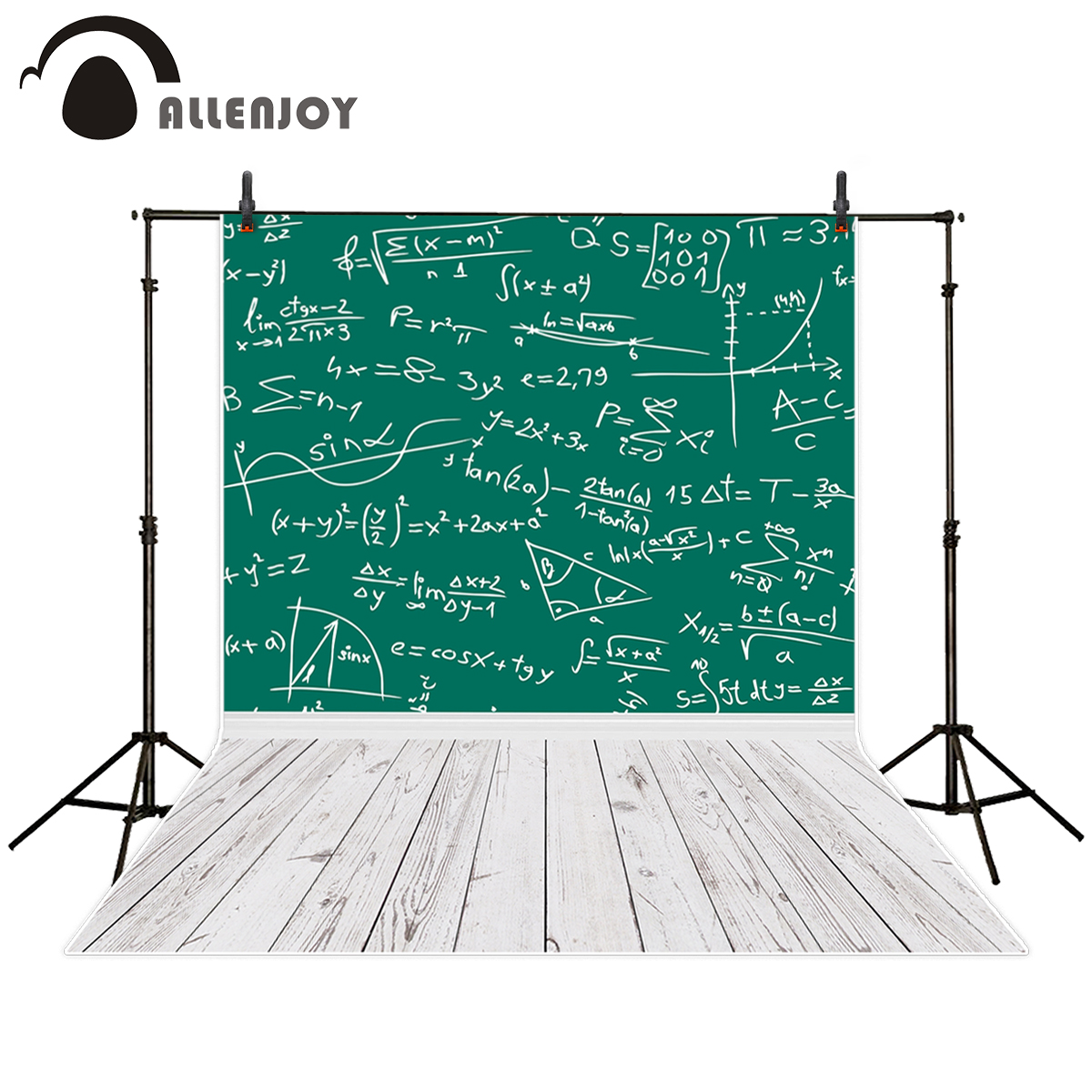 Allenjoy background for photo studio school chalkboard study student wood floor backdrop photobooth photocall newborn free shipping replacement projector bulb lamp module np30lp fit for np m332xs np m332xsg
