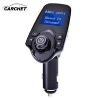 CARCHET Car MP3 Player Bluetooth FM Transmitter Hands Free Car Kit Audio MP3 Modulator W 1
