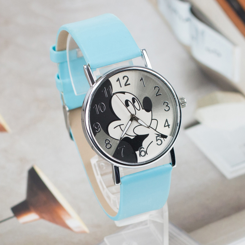 Hot Pattern Fashion Women Wristwatch 2017 New Cartoon Leather Quartz Watch Boy Girls Kids Clock relogio feminino joyrox minions pattern children watch 2017 hot despicable me cartoon leather strap quartz wristwatch boys girls kids clock