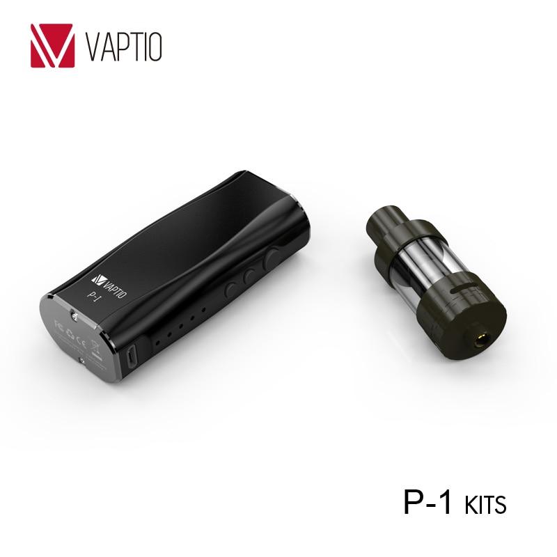 Christmas gift  Vaptio e-cigarettes mini Box mod kits 50W somking vape Electronic hookah cheaper 2.0mL tank Organic cotton coil 10pcs wick n vape cotton bacon v2 organic