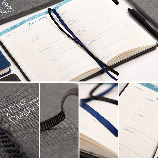 2019 Daily Planner for Business