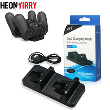 Ps4 Controller Charger USB Sony Ps4 Pengisian Dock Gaming Controller Stand Station untuk PS4 Sony PlayStation 4 Konsol Game(China)