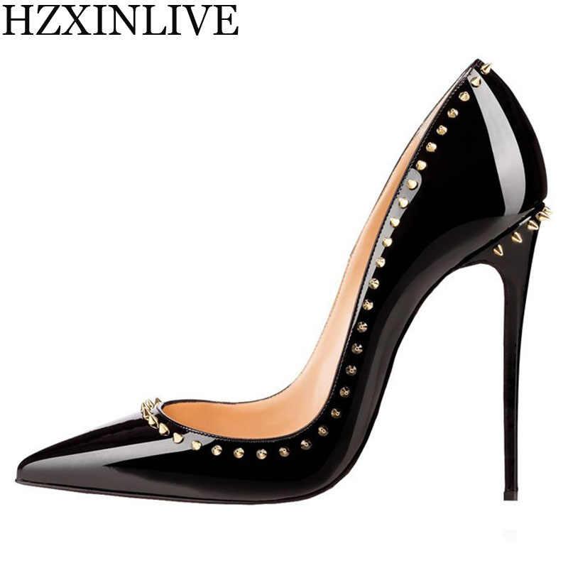 GGOB Luxury Handmade Pearl Wedding Shoes Women Bridal 10.5cm Sheepskin  Lining High Heel Pumps Designer 6d896da9e0da