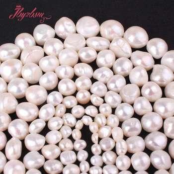 d15f95d17832 Perla Natural de agua dulce blanco libre de la piedra de la gema perlas 14