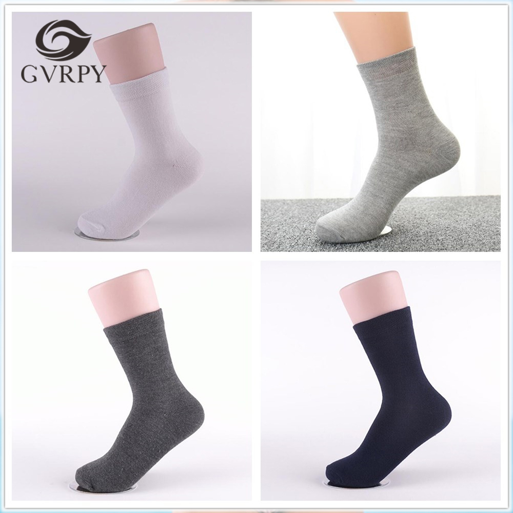 High Quality New Arrival 5 pairs/lot Men Socks Classic Business Socks for Men Solid Color Mens Socks Males Dress Socks 5 Colors