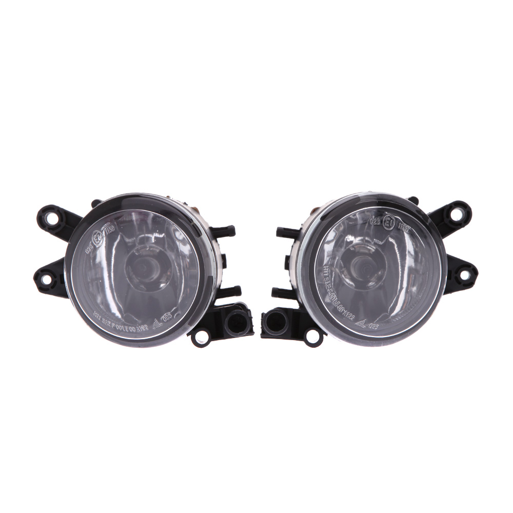 ФОТО Car Style 55W Front Bumper Driving Fog Grill Lights Lamps for Audi A4 B6 02-05 03 04 Sedan Headlights for Cars