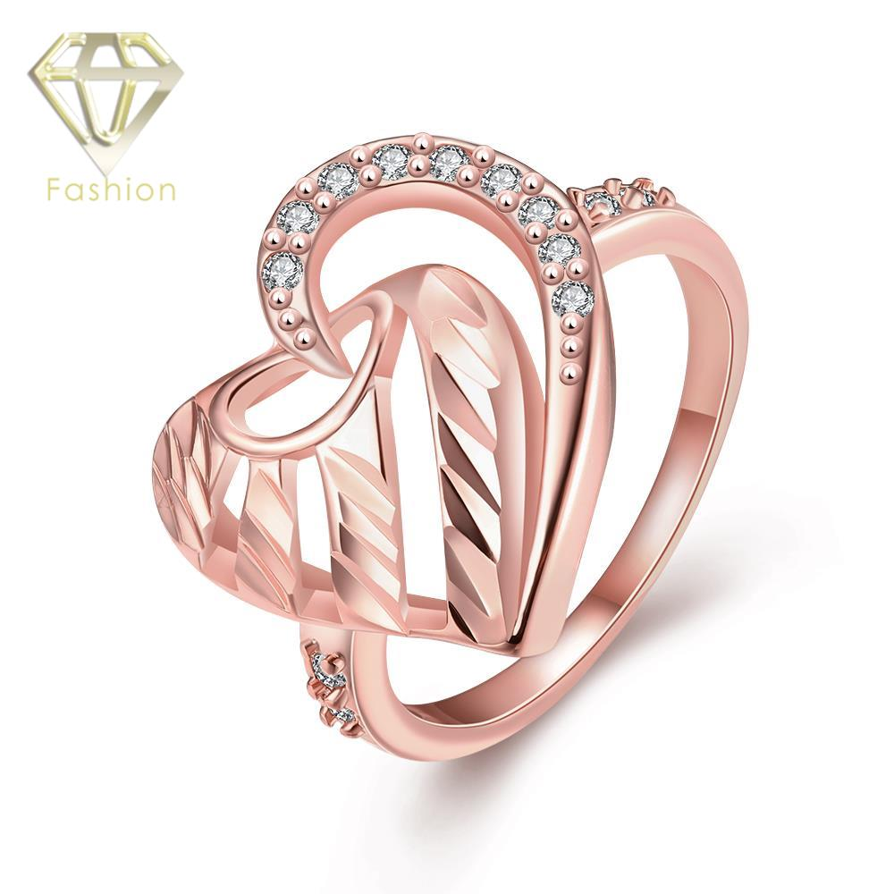 Beautiful Jewellery for Women Romantic Unique Hearts Design Inlaid ...