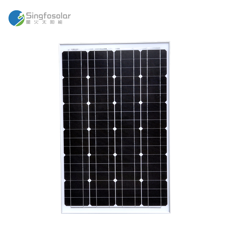 Solar Panel 60 W 12 V Battery Charging Cell Photovoltaic