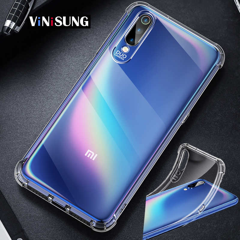 Fashion Bumper Clear Transparent Soft Case For XiaoMi redmi note 5 6 5A 6A 4A 4X S2 7 Pro Plus Silicone Cover phone case