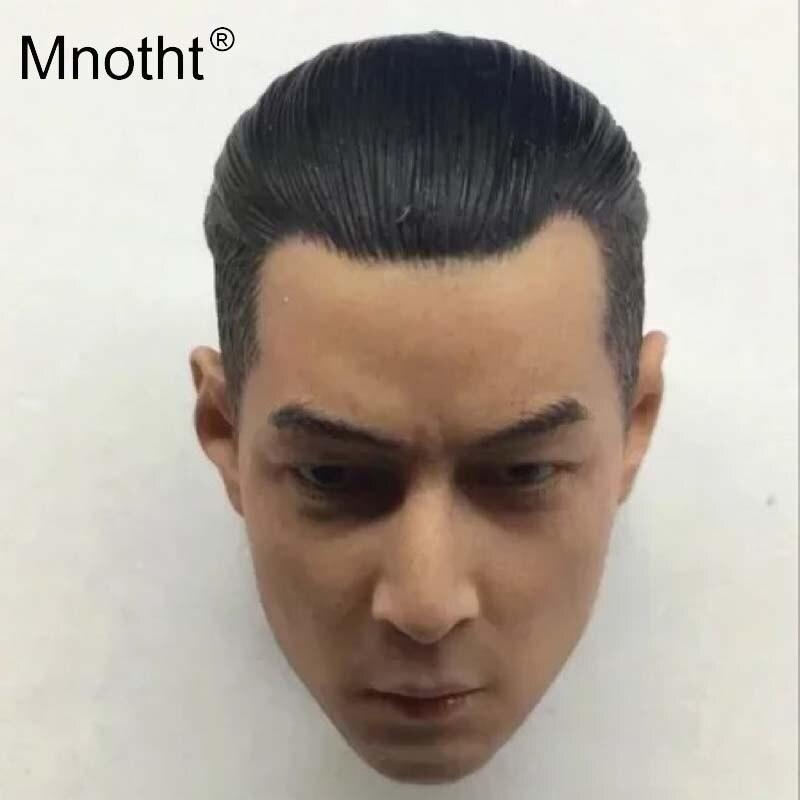 Mnotht 1:6 films d'écoute Daniel Wu tête sculpter modèles homme soldat tête sculpture jouets pour 12in figurines Collection m3