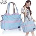 Бесплатная доставка мода водонепроницаемые подгузник сумки большой емкости многофункциональный мать мешок infanticipate материнства мешок сумка