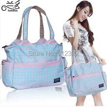 Livraison gratuite mode étanche à langer sacs grande capacité multifonctionnel mère sac de maternité infanticipate sac de messager sac