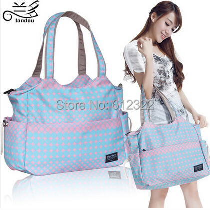 free shipping fashion waterproof nappy bags large capacity multifunctional mother bag ma ...