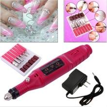 Professional Electric Nail Drill Manicure Set Nail Polish Nail File Bit Machine Nail Art Manicure Tool Mill Manicure Machine