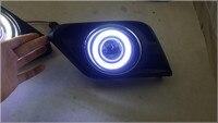 Top Quality COB Angel Eye E13 Projector Lens Fog Lamp 5 Colors Led Daytime Running Light