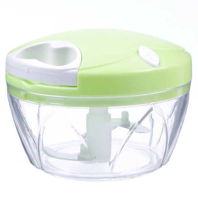 Kitchen Onion Vegetable Chopper Hand Speedy Chopper Fruit Chop Shredder  Slicer