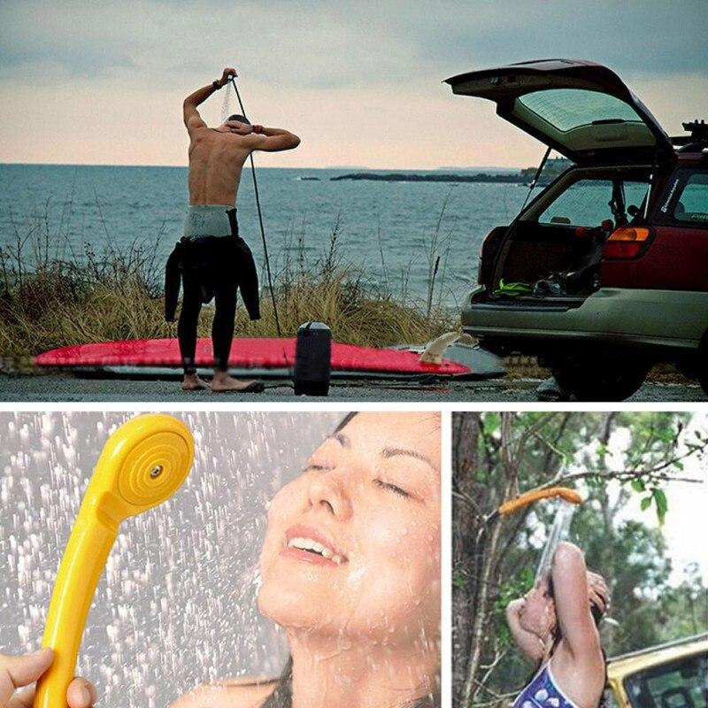 Camping randonnée voyage voiture Pet douche lave-linge Parking lavage outils de plein air