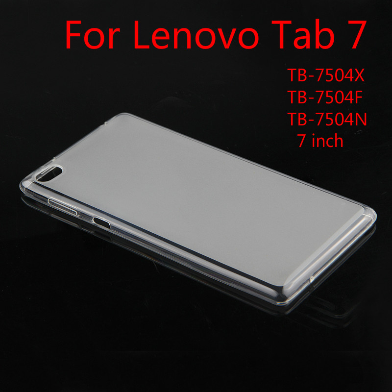 TPU Back case For <font><b>Lenovo</b></font> <font><b>Tab</b></font> <font><b>7</b></font> Tab7 <font><b>TB</b></font>-<font><b>7504X</b></font> <font><b>TB</b></font>-7504F N <font><b>7</b></font>