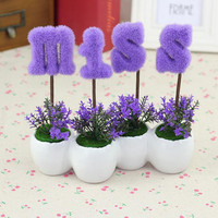 Wedding Decoration artificial plants potted artificial flowers artificial suit miss gifts creative gifts