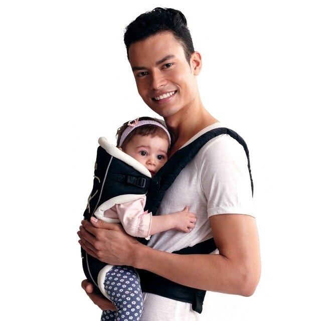 Bebear Эргономичный Кенгуру Шик Слинг Многофункциональные Младенцы Мандука Wrap Дышащий Малышей Рюкзак для Мамы