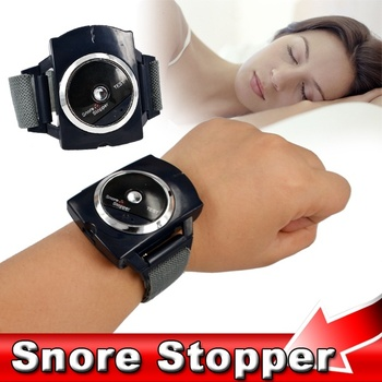 CAMMUO Electronic snore Stopper Biosensor Anti Snore Wristband Watch Cessation Cure Solution Pure Sleeping Night Guard Aid