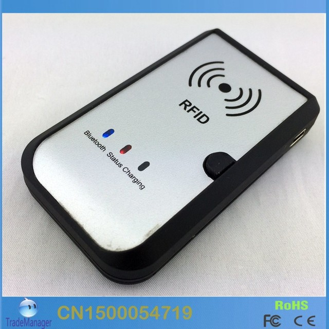 Hf 13 56mhz Wireless Bluetooth Rfid Reader Writer Support
