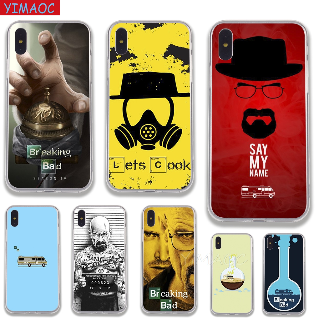 YIMAOC Breaking Bad TV Soft Case TPU Silicone Cover for iPhone 8 7 6 6S Plus 5 5S SE X XR XS 11 Pro Max Shell Cases
