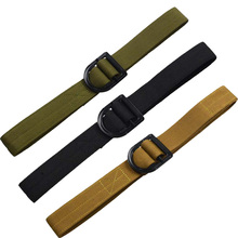 Military Tactical Belts Mens OPS Special Forces SWAT Army Combat Nylon Belts Adjust Emergency Survival Waist Belt Tactical Gear