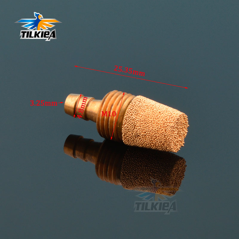 Rc Boat Fuel  Filter Fine for GAS Nitro Rc Model Boat Take Apart Type  L45mm