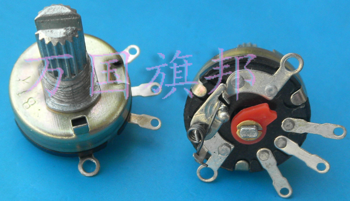 Free Delivery.Adjustable Potentiometer RV17 1 B1K, K Short Handle Switch