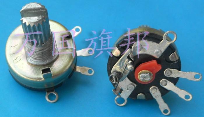 Free Delivery.Adjustable Potentiometer RV17 1 B1K, K Short Handle Switch
